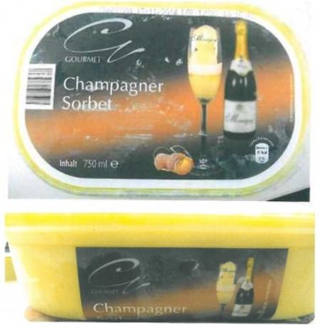 Champagner-Sorbet