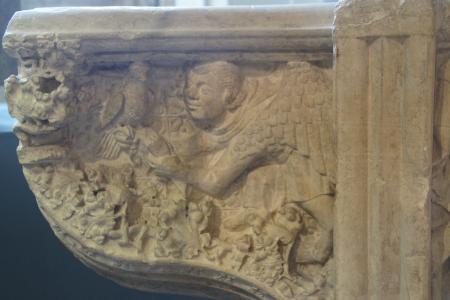 [Kapitäl aus dem Yorkshire Museum, York/UK]