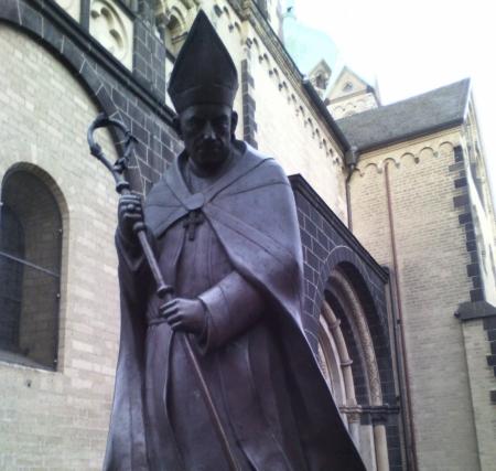 Joseph Kardinal Frings: 1946 Namensgeber eines Verbs (Foto: C. Koss Neuss 2015)