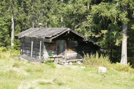 Bei dieser Hütte ist keine VorSt-Aufteilung mehr nötig (Großer Arber, 08/2016, C.Koss)