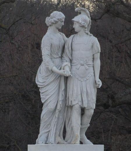 Zusammenleben leicht gemacht: Mars und Venus (Schloss Schönbrunn, C. Koss Jan. 2016)