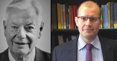 Prof. Dr. Claus Roxin und Prof. Dr. Luís Greco